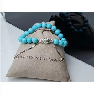 David Yurman Turquoise Adjustable Bracelet